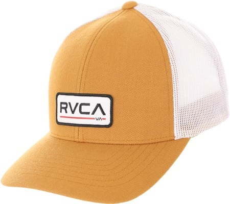 RVCA Ticket III Trucker Hat - chestnut - view large