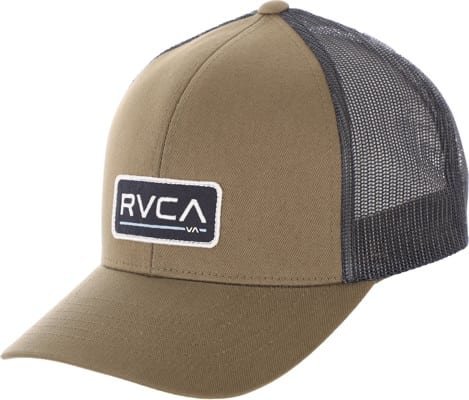 RVCA Ticket III Trucker Hat - olive - view large