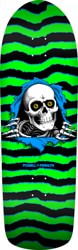 Powell Peralta Old School Ripper 10.0 Skateboard Deck - green/black