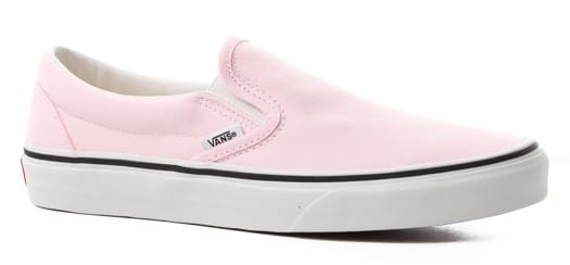 Vans Women's Classic Slip-On Shoes - blushing/true white - view large