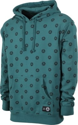 Welcome Tali-Dot French Terry Hoodie - dusty teal/black - view large