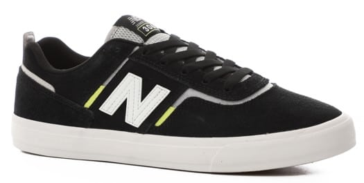 New Balance Numeric 306 Skate Shoes - black/white/hi lite - view large
