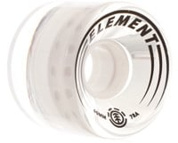 Element Filmer Skateboard Wheels - white (78a)