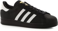 Adidas Superstar Skate Shoes - core black/footwear white/gold metallic
