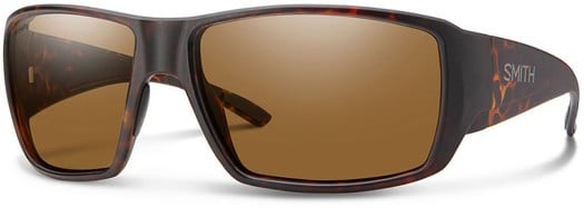 Smith Guide's Choice Polarized Sunglasses - matte dark amber tort/chromapop polarized brown lens - view large