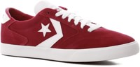 Converse Checkpoint Pro Skate Shoes - maroon/white/white