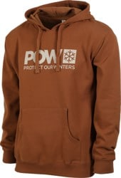 Protect Our Winters Classic POW Logo Hoodie - legacy brown