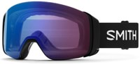 Smith 4D Mag ChromaPop Goggles + Bonus Lens - black/photochromic rose flash lens + sun black lens
