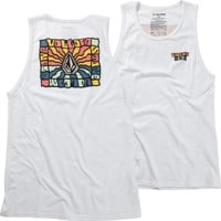 Volcom Day Waves Tank - white