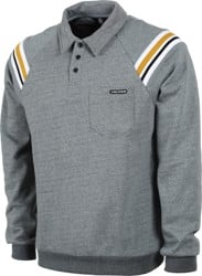 Volcom CJ Collins L/S Polo Shirt - cool blue