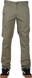 Volcom Frickin Slim Chino Pants - army green combo