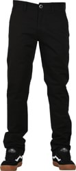 Volcom Frickin Slim Chino Pants - black