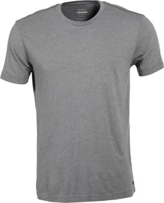 RVCA Solo Label T-Shirt - grey blue - view large