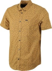 RVCA That'll Do Print S/S Shirt - brass