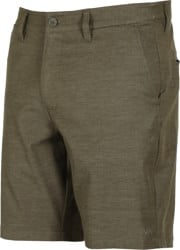 RVCA Back In Hybrid Shorts - olive