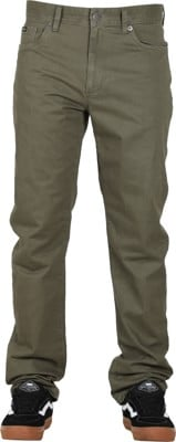 RVCA Daggers Twill Pants - olive - view large