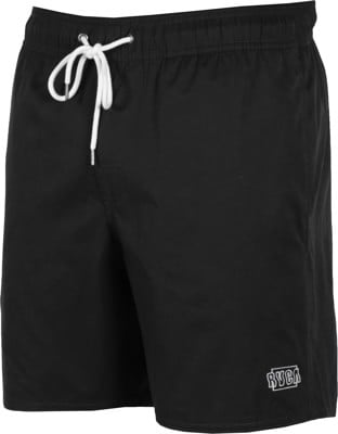 RVCA Opposites Elastic Boardshorts - black - view large