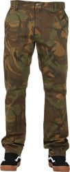 RVCA Week-End Stretch Pants - camo