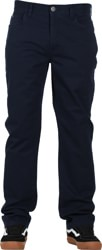 RVCA Week-End 5 Pocket Pants - navy marine