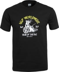HUF Year Of The Rat T-Shirt - black