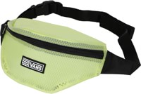 Vans Women's Clearing Fanny Pack Travel Bag - lemon tonic/clear