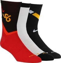 Nike SB Everyday MAX LTWT 3-Pack Sock - (truckin) multi-color