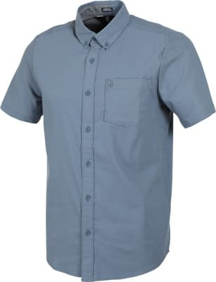 Volcom Everett Oxford S/S Shirt - stormy blue - view large