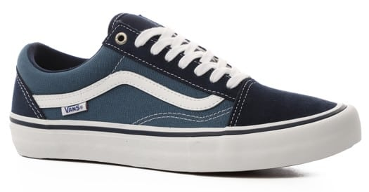 Vans Old Skool Pro Skate Shoes - navy/stv navy/white (PopCush) - view large