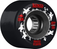 Bones ATF Rough Riders Skateboard Wheels - wranglers black (80a)