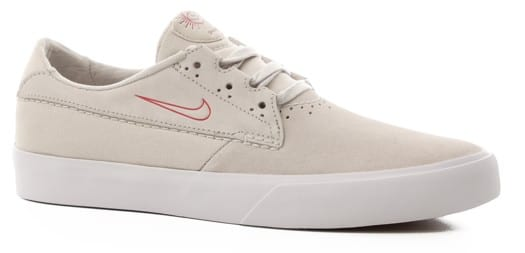 Nike SB Shane Skate Shoes - summit white/university red-white - view large