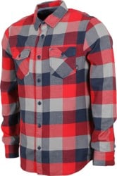 Vans Box Flannel - racing red/dress blues