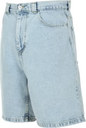 Polar Skate Co. Big Boy Denim Shorts - light blue