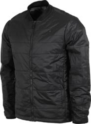 Roark Great Heights Primaloft Reversible Bomber Jacket - black