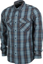 Roark Pinnacles Flannel Shirt - marine blue
