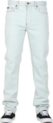 RVCA Daggers Jeans - white wash - view large
