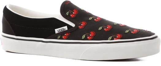 Vans Classic Slip-On Shoes - (cherries) black - view large