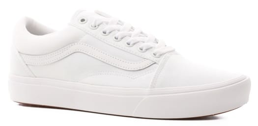 Vans Old Skool ComfyCush Shoes - (classic) true white/true white - view large