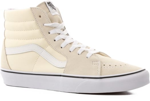 Vans Sk8-Hi Skate Shoes - classic white/true white - view large