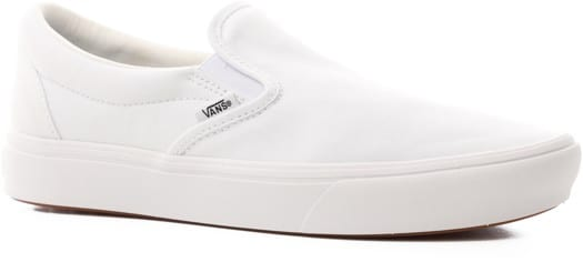 Vans Slip-On ComfyCush - (classic) true white/true white - view large