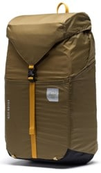 Herschel Supply Ultralight Packable Daypack Backpack - khaki green/arrowwood/black