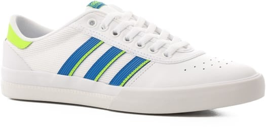 Adidas Lucas Premiere ADV Skate Shoes - footwear white/glory blue/signal green - view large