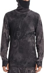 Burton Midweight Base Layer Long Neck - marble galaxy print