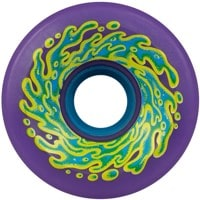 Santa Cruz Slime Balls Skateboard Wheels - neon purple (78a)
