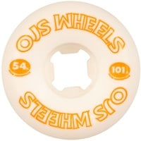 OJ From Concentrate Hardline Skateboard Wheels - white/orange (101a)