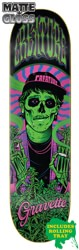 Creature Smokers Club Gravette 8.3 Skateboard Deck