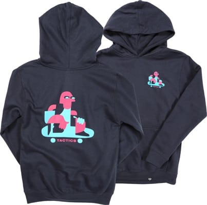 Tactics Kids Roller Pullover Hoodie - navy - view large