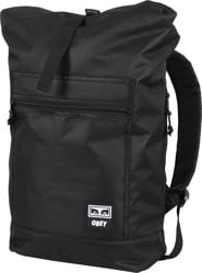 Obey Conditions III Roll Top Backpack - black