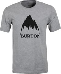 Burton Classic Mountain High T-Shirt - gray heather