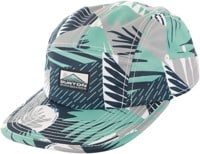 Burton Cordova 5-Panel Hat - iron gray woodcut palm