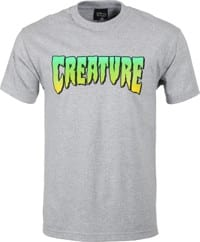 Creature Logo T-Shirt - athletic heather